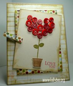 Nice Valentine's card by Kelly