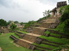 Mayan ruins of Palenque in Chiapas Mexico