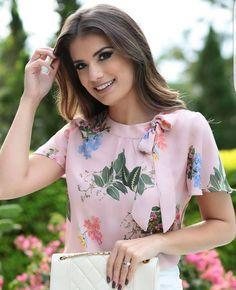 Blusa con flores