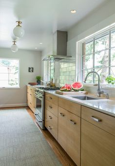 Inexpensive Kitchen Remodel Home Improvements oak kitchen remodel layout. Maple Kitchen Cabinets, Custom Kitchen Cabinets, Kitchen Paint, New Kitchen, Kitchen Design, Kitchen Counters, Wood Cabinets, White Cabinets, Cupboards