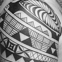 Polynesian Tribal Tattoos | Uniquely Designed and Customized