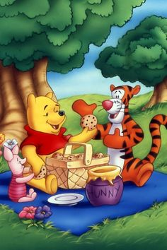 Winnie the Pooh and Friends Wallpaper | Ur iPhone Source ~ Winnie the Pooh and Friends iPhone Wallpapers