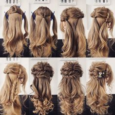 Hair Updos Vintage French Twists in 2020 Pretty Hairstyles, Braided Hairstyles, Wedding Hairstyles, Crazy Hairstyles, Updo Hairstyle, Hair Arrange, Pinterest Hair, Hair Hacks, Hair Goals