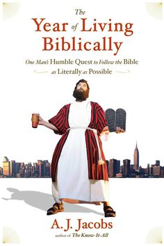 Image result for the year of living biblically