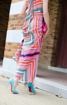 e7029819893 eliza-j-dress-and-louboutins Eliza J Dresses