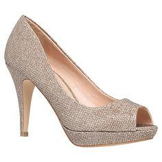 Buy Miss KG Georgia Heeled Peep Toe Court Shoes Online at johnlewis.com £52 cyber weekend