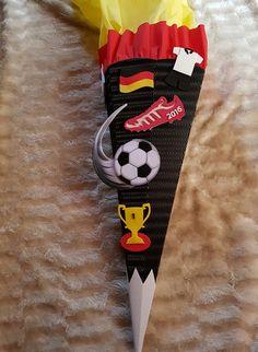 Schultüten - Schultüte Fussball EM Bastel-Set - ein Designerstück von kreativ-was-sonst bei DaWanda