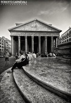 """""""Curves and Lines"""" - (Armonia di curve e linee) - Pantheon 
