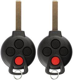 BESTHA 4 Button Car Key Fob Replacement CWTWB1U793 for 2013-2015 Ford Explorer 2011-2015 F150 F250 F350 Keyless Entry Remote