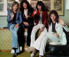 "frederick-mercury: "" Roger, Brian and Freddie approve it. John says hi. """