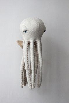 Small Albino Octopus O Stuffed Animal O Plush Toy от BigStuffed