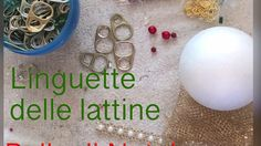 LINGUETTE LATTINE palla di Natale - YouTube