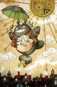 Steampunk Totoro!