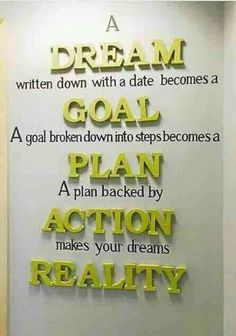 Search more. ,😍 his is so true. Even the bible says write the vision and make it plain. I have Goals that I will reach. Great Quotes, Quotes To Live By, Life Quotes, Reality Quotes, Write The Vision, Vie Positive, Positive Quotes, The Words, Motivational Quotes