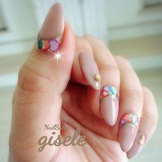 春/夏/オールシーズン/旅行/ハンド - ai_NailSalon-giseleのネイルデザイン[No.3155592]|ネイルブック Wedding Nails, Slip On, Colors, Wedding Manicure, Wedding Nail