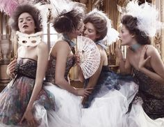 18th century, blush, diy, dolly, fashion, feathers, hearts, lisa lindqwister, mask, maskme, masks, model, powder, powdered wig, swedish  elle, tulle, women