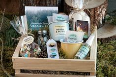 Forest Wedding Welcome Basket