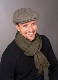 8549a2ec84a Wool Trinity Cap  These beautiful wool Irish Flat Caps are classic yet  smart