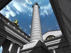 Trajan's Column, Pretoria, Burj Khalifa, Cn Tower, Archaeology, History, Building, Travel, Blog