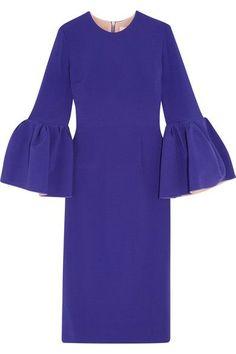 Roksanda - Margot Crepe Dress - Purple - UK14