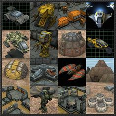 Ebbles Miniatures Sci-Fi Paper Models Series 2 Free Templates  Here are lots of Sci-Fi Paper Models for RPG and Wargames, created by Ebbles Miniatures. There is another series on the site available. You can download the papercraft models here: Ebbles Miniatures Sci-Fi Paper Models Series 2 Free Templates Download