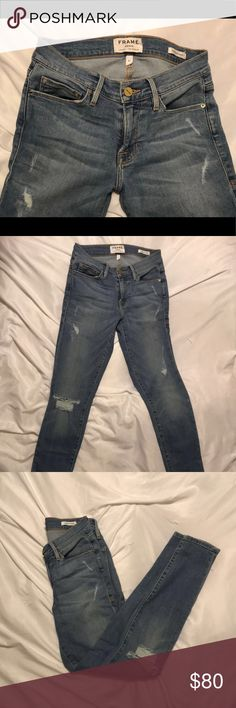 FRAME jeans. Size 27 In great condition worn a handful of times. A comfortable, stretch denim that is true to size Frame Denim Jeans Skinny
