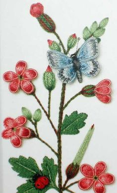 Stumpwork Medieval Flora: A Droolingly Beautiful Book! – Needle'nThread.com