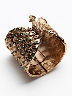 House of Harlow Peacock Cuff