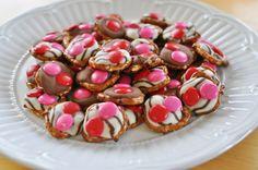 Valentines Day Chocolate Pretzels