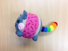 Chubby Nyan Cat by Wicked Child Creations