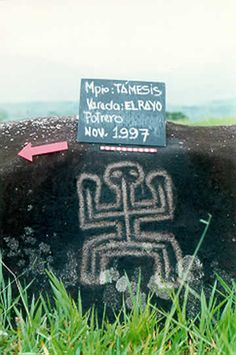 petroglifos colombia tamesis - Google Search