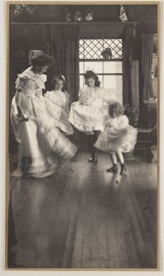 "ca. 1905, ""The Dance"", Gertrude Käsebier    via the National Media Museum, Royal Photographic Society"