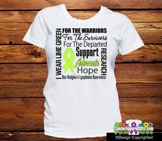 Non-Hodgkins Lymphoma Tribute Shirts