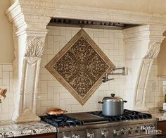 Transform your kitchen with one of these stylish backsplash ideas. With backsplash ideas for tile, stone, glass, ceramic, and more, you're sure to find a kitchen backsplash that fits your style and budget.