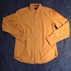 I just discovered this while shopping on Poshmark: J Crew Men's Slim Vintage Oxford Long Sleeve Shirt. Check it out! Price: $35 Size: M