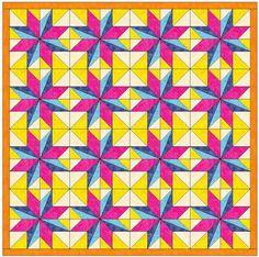 Name: 'Quilting : LeMoyne Star Variation Template Block Star Quilt Blocks, Star Quilt Patterns, Paper Piecing Patterns, Star Quilts, Applique Patterns, Zentangle Patterns, Pattern Blocks, Blackwork, Vintage Star