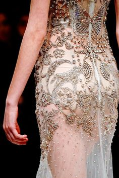 Alexander McQueen F/W 2016...  OMG, Beautiful Imagine wearing this on that special day.