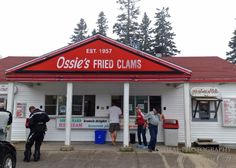 Ossies Fried Clams – an institution in Bethel