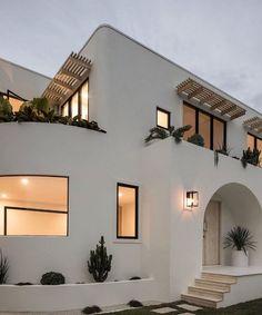 Modern House Design, Home Design Decor, Home Interior Design, Home Decor, House Goals, Exterior Design, Interior And Exterior, Future House, House Front