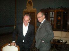 Zaia con il Presidente Provincia Trento Ugo Rossi