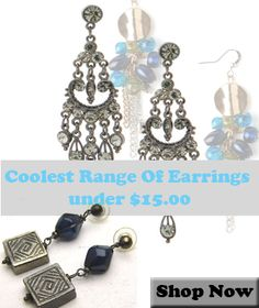 India Violet: Earrings Collection under $15