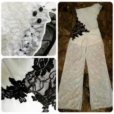 Terminado! Mono un solo hombro con aplicaciones. #ropafiesta #glam #fashion #handmade #fiesta