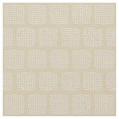 Cute Cream Beige Checked Fabric #cream #decor