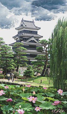 Matsumoto Castle Nagano Japón Osaka