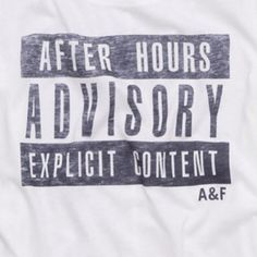 A&F #GraphicTees
