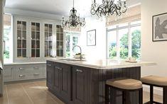 English-Classic - CGI kitchen for Mark Wilkinson Furniture