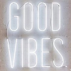 Good vibes only... no matter what.