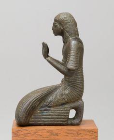 Priest kneeling  Period:     New Kingdom, Ramesside Dynasty:     Dynasty 19–20 Date:     ca. 1250–1070 B.C. Geography:     Country of Origin Egypt