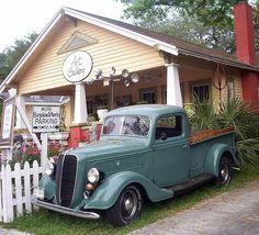 1937 Ford Truck by thisisrobert, via Flickr