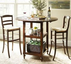 Kitchen Table Bar Height Pottery Barn 48 New Ideas Patio Bar Table, Wooden Bar Table, Barn Table, Pub Table Sets, Dining Room Table, Bistro Tables, Pub Tables, Lunch Table, Kitchen Tables